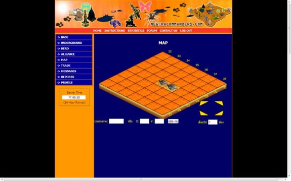 web based game แนววางแผนการรบ